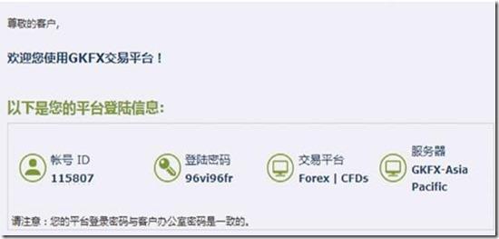 GKFX捷凯金融中文开户指南