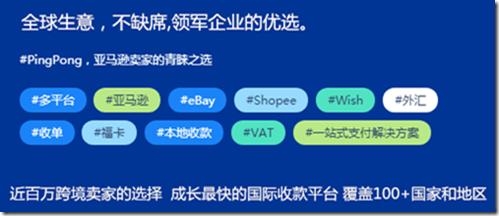 全球生意国际收款平台PingPong